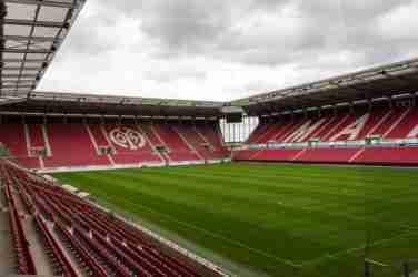 Mainz 05 Stadium inside