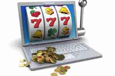 3d illustration of online jackpot